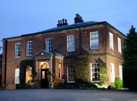 Dovecliff Hall Hotel, hotel in Burton upon Trent