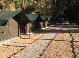 Jungle Stays, luxury tent in Chail