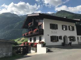 Appartements Rendl, pet-friendly hotel in Sankt Anton am Arlberg