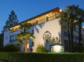 Hotel Ascovilla Charming Hideway, hotel in Ascona