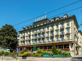 Grand Hotel Europe, отель в Люцерне
