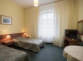 Hotel Kapitan, отель в Щецине