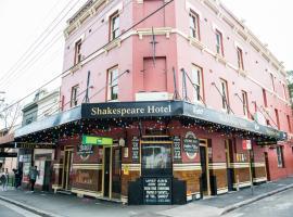 Shakespeare Hotel, B&B in Sydney