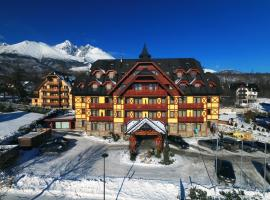 Family Apartments in Mountain Hotel, apartment in Tatranská Lomnica