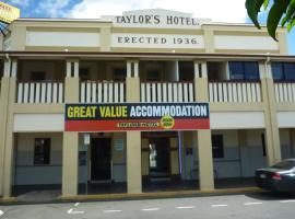 Taylors Hotel, hotel in Mackay