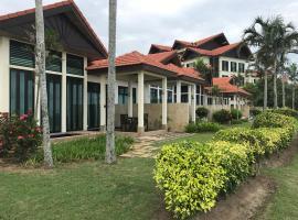 Sunset Seaview Beach Villas & Spa Suites @ Nexus Karambunai, pet-friendly hotel in Kota Kinabalu