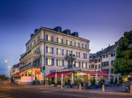 Hotel Le Rive, hotel near Divonne-les-bains thermal center, Nyon