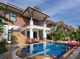 The Unique Krabi Private Pool Villa, villa in Ao Nang Beach