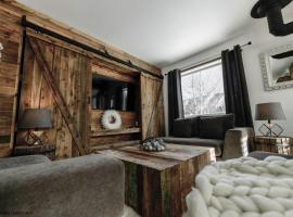 Le Vanilee - Les Chalets Spa Canada, hôtel à La Malbaie près de: T-Bar Ski Lift