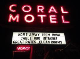 Coral Motel, motel in El Paso