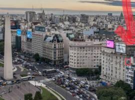 corazón y alma del obelisco 1, apartement sihtkohas Buenos Aires