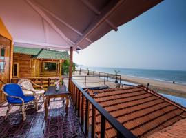 Om Sai Beach Huts, luxury tent in Agonda