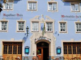 Werdenfelser Hof, hôtel à Garmisch-Partenkirchen