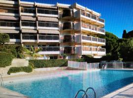 Très bel appartement vue mer à Nice, hotel in Nice