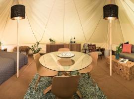 Camp Boutique, luxury tent in Gaulverjabær