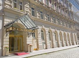 Hotel Kaiserhof Wien, hotel en Viena