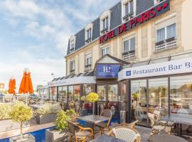 Hôtel de Paris, hotel in Courseulles-sur-Mer