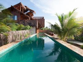 Casa dos Nomades, hotel with pools in Barra Grande