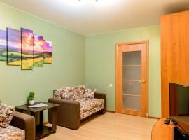 Apartment TwoPillows on Lomonosova 9, отель в Воркуте