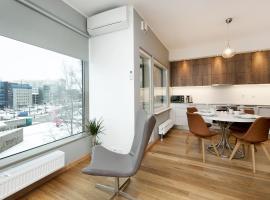 Lootsi 3a Nordic Style with Sauna and Garage, apartamento en Tallin