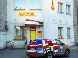 Hotel Erfolg, hotel in Daugavpils
