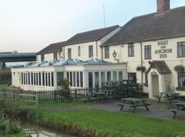 The Boat And Anchor Inn, hotel in Bridgwater