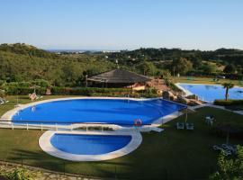 Apartamento en Magnifico Resort - Parque Botanico, hotel dicht bij: Flamingos Golf, Estepona
