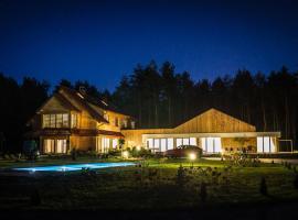 Leśna Chata – hotel w mieście Cieszanów
