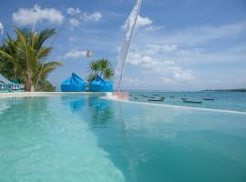 Le Pirate Beach Club Nusa Ceningan, hotel in Nusa Lembongan
