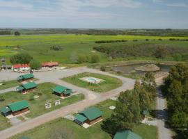 Cabañas Maria Maria, farm stay in Conchillas
