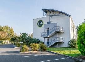B&B Hôtel Bordeaux Lac sur Bruges, hôtel à Bruges