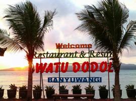 Watu Dodol Hotel & Restaurant, hotel in Banyuwangi
