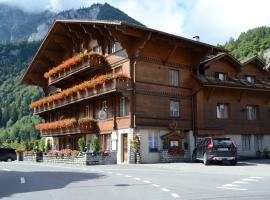 Hotel Heimat, hotel near Mürrenbahn, Wilderswil