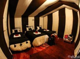 Bivouac Les Clés de Desert, luxury tent in Hassilabied