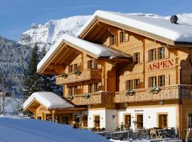 Aspen Alpine Lifestyle Hotel, hotel in Grindelwald