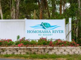 Homosassa River RV Resort, hotel near Homosassa Springs Wildlife State Park, Homosassa