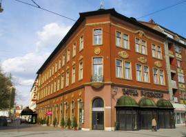 Hotel Pannonia, отель в Мишкольце