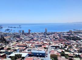 Mirador del Poeta, apartamento en Valparaíso