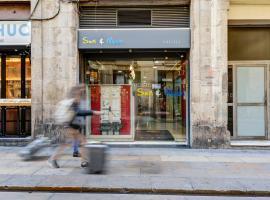 Sun & Moon Hostel, albergue en Barcelona