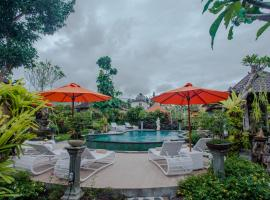 Capung Cottages, hotel romantico ad Ubud