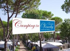 WMC BUSCHMANN camping-in-venedig Wohnwagenvermietung at UNION LIDO Cavallino, glamping site in Cavallino-Treporti