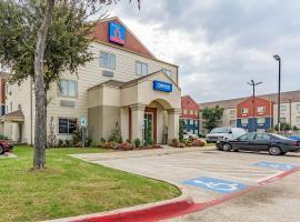 Studio 6-Dallas, TX、ダラスのホテル