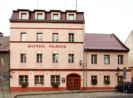 Hotel Slávie – hotel w mieście Klášterec nad Ohří