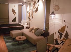 Art Apartment AOCA Sanno OLIVE, hotel in Tokyo
