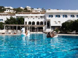 Armadoros Hotel / Ios Backpackers, hotel in Ios Chora
