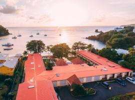 Sunset Shores Beach Hotel, hotel i Kingstown