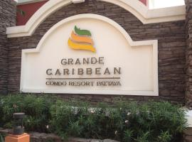Grande Caribbean Resort 17th floor by Bell-Turner, apartment in Pattaya South