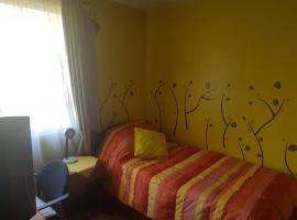 Desayuno y Alojamiento en Providencia, SCL, habitación en casa particular en Santiago