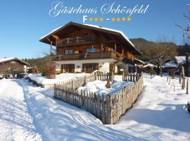 Gästehaus Schönfeld, Hotel in der Nähe von: Benz-Eck Ski Lift, Reit im Winkl