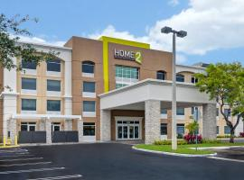 Home2 Suites by Hilton Miramar Ft. Lauderdale, hotel v destinaci Miramar
